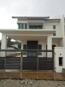 FREEHOLD 40x120 Semi D Double Storey Bukit Gambir Muar Tangkak