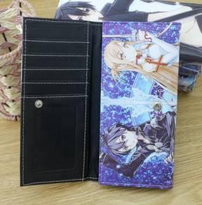 Anime SAO Leather Long Wallet