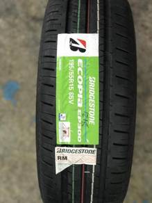 Bridgestone ecopia 195.55.15 wira myvi alza