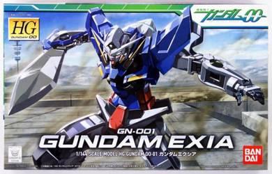 Bandai HG OO 01 Gundam EXIA 1/144 Action figure