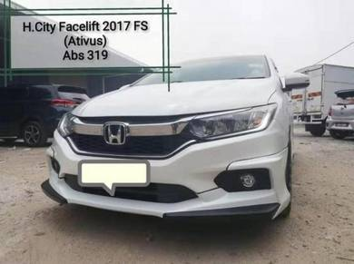 Honda city 2017 ativus bodykit with paint abs