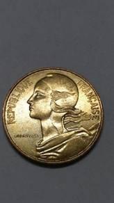 Vintage France 10 Centimes Coins ( 9 Coins)