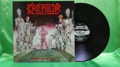 Kreator TERRIBLE CERTAINTY 1987 SPV Noise LP