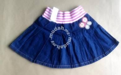 (WJ 0110)Hot Gal-Gal Jeans Skirt Shorts