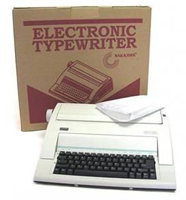Electronic Typewriter Nakajima - Ready Stoks