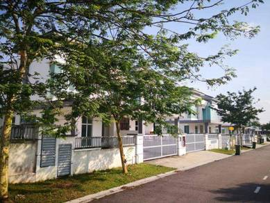 Taman Pulai Indah Double Storey Cluster House For Sale
