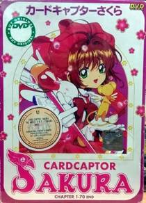 Cardcaptor Sakura Chapter 1-70 End DVD
