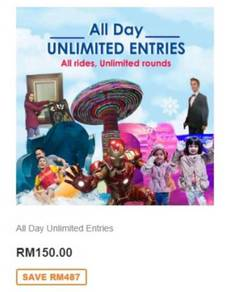 I-city theme park all day unlimited entries