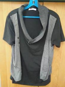 Black Grey T-Shirt