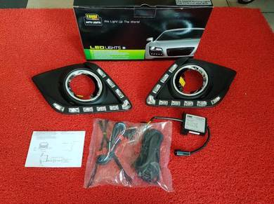 Toyota hilux revo oem drl led daylight led light