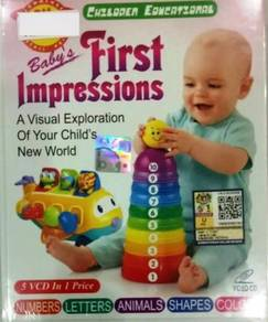 VCD Children Educational Baby´s First Impressions