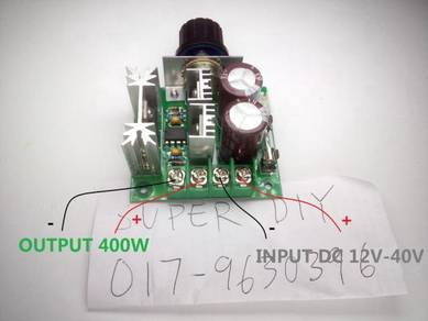 PWM speed motor controller 10A high power project