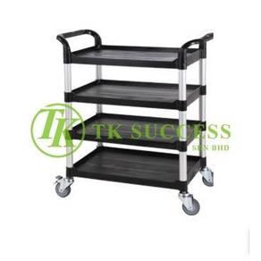 4 Tier Restaurant Cart Trolley Mamak
