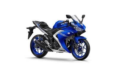 Yamaha yzf r25 promo 18 item free gift (labuan)