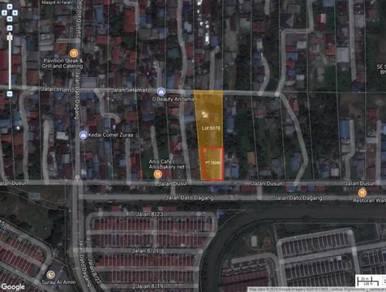 Tanah dengan 14 buah rumah sewa sungai ramal dalam kajang