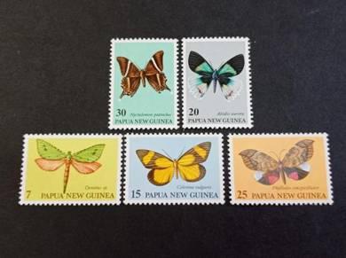 Papua New Guinea 1979 Butterflies No 3073