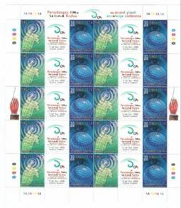 Mint Stamp Sheet Global Knowledge Conference 2000