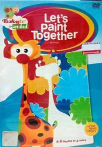Baby TV Let's Paint Together DVD