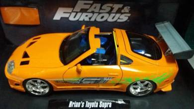 Brian's Toyota Supra 2 Fast & Furious