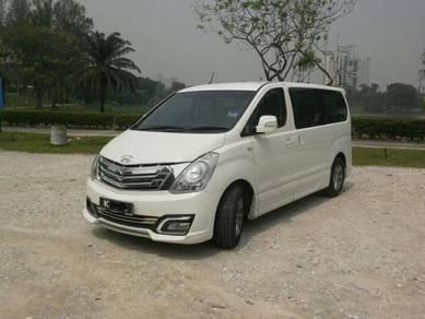 Hyundai Grand Starex for rent