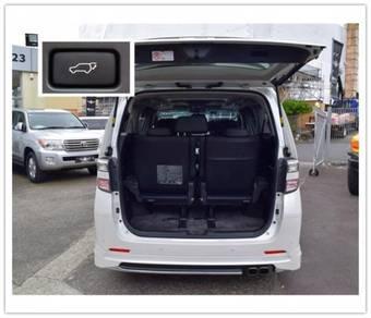 Vellfire alphard 2008-2014 install rear auto boot