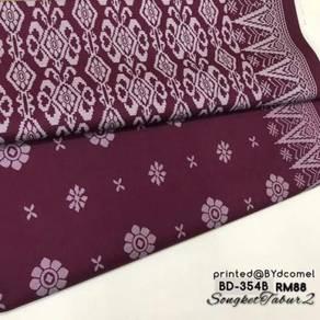Kain Cotton Songket Printed BD-354B