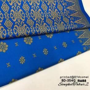 Kain Cotton Songket Printed BD-354G