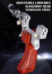 Adjustable Steel Slingshot | Lastik Boleh Laras