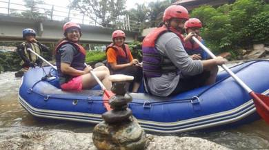 Gopeng whitewater rafting Advanture