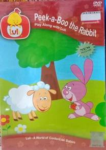 Luli Peek-a-Boo The Rabbit DVD