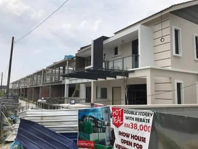 2-Storey Terrace, Jawi, Penang mainland