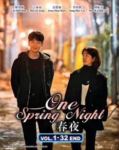Korean Drama One Spring Night Vol.1-32 End DVD