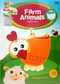 Baby TV Farm Animals DVD