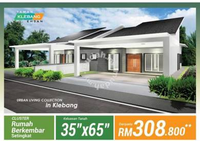 Single Storey Semi D At Klebang Chemor