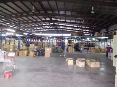 KRUBONG INDUSTRIAL factory Warehouse 22,000 sq fts