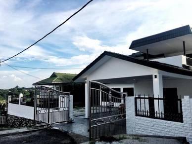 [fully reno]2 storey bungalow taman mas 1 cheras near mrt taman suntex