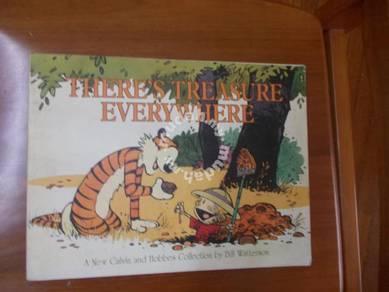 Here's treasure everywhere -