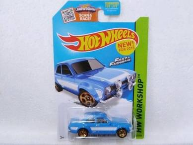 Hotwheels '70 Ford Escort RS1600 #221 Blue