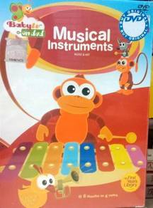 Baby TV Musical Instruments DVD