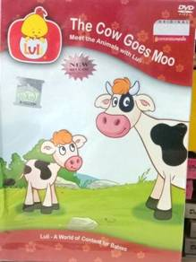 Luli The Cow Goes Moo DVD