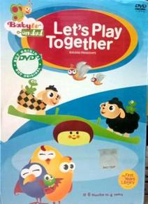 Baby TV Let's Play Together DVD