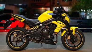 Kawasaki Er6n Yellow Burner Er6 er-6n LOAN KEDAI