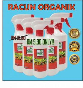 Set semburan racun serangga organik hidroponik