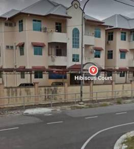 Hibiscus Court Apartment At Jalan Stutong Baru Jalan Stampin Baru