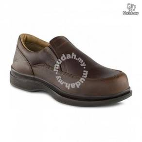 Safety Shoes Red Wing Men Slip On Brown EH ST 6647