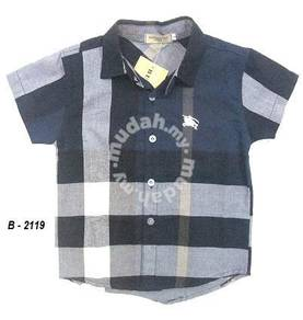 CHILDREN SHIRT WITH COLLAR 2119 nBLUE