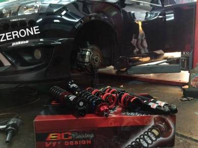 Bc V1 Fully Adjustable Toyota Vios NCP150 2014+