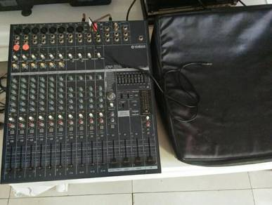 Powered mixer yamaha