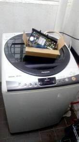 Repair mesin basuh & peti sejuk dirumah anda
