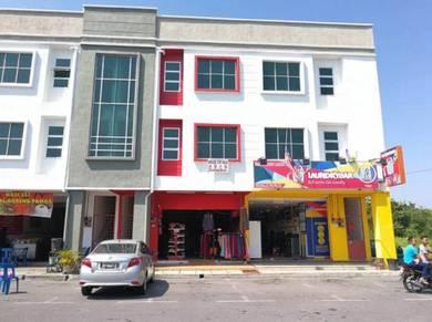 Kuala Perlis - Kedai 3 Tingkat Untuk Dijual
